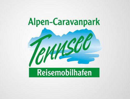 Logoentwicklung Alpen-Caravanpark Tennsee