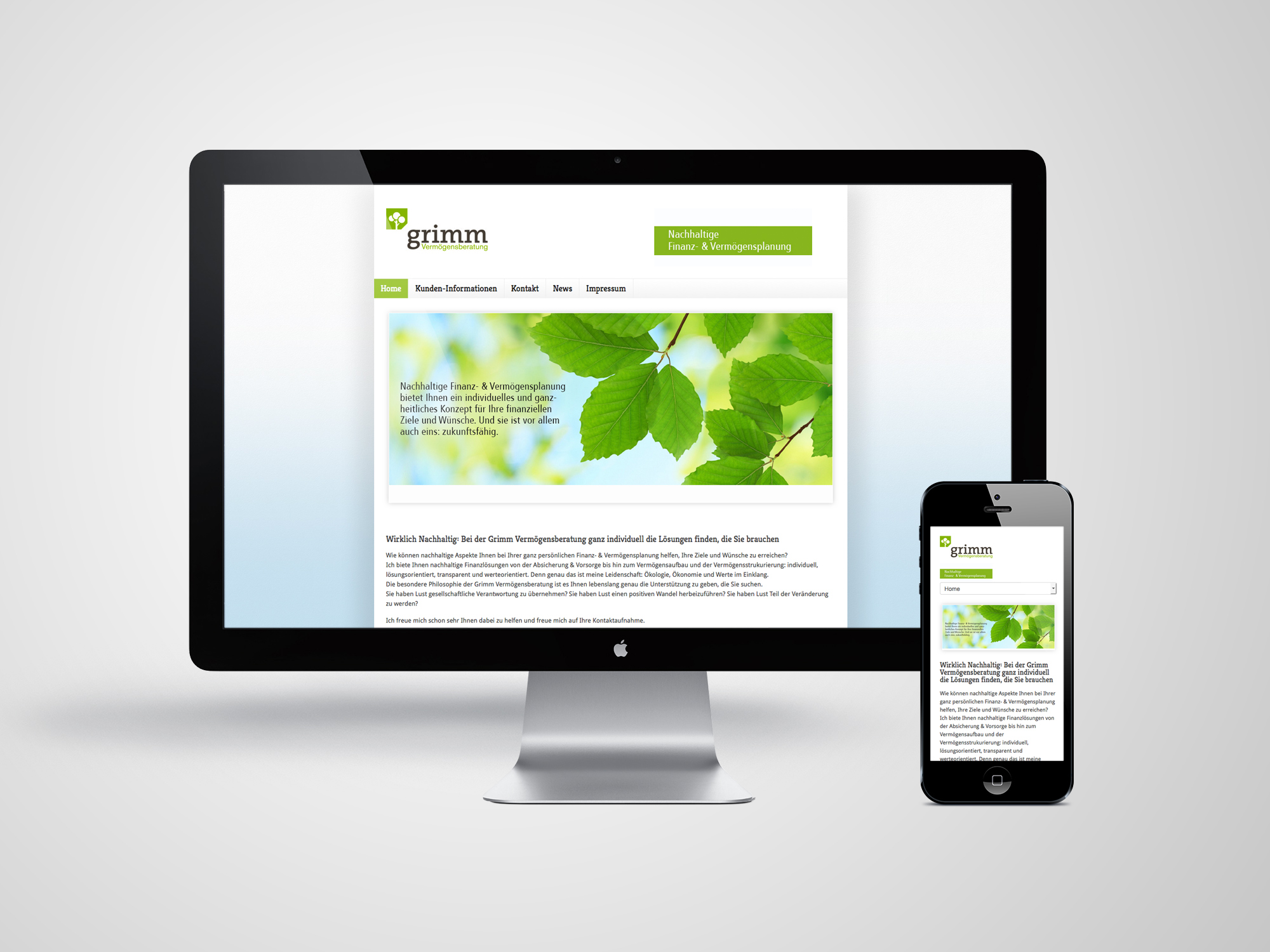 Webdesign-Grimm
