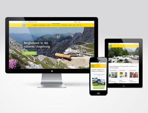 Responsive Website Alpen-Caravanpark Tennsee