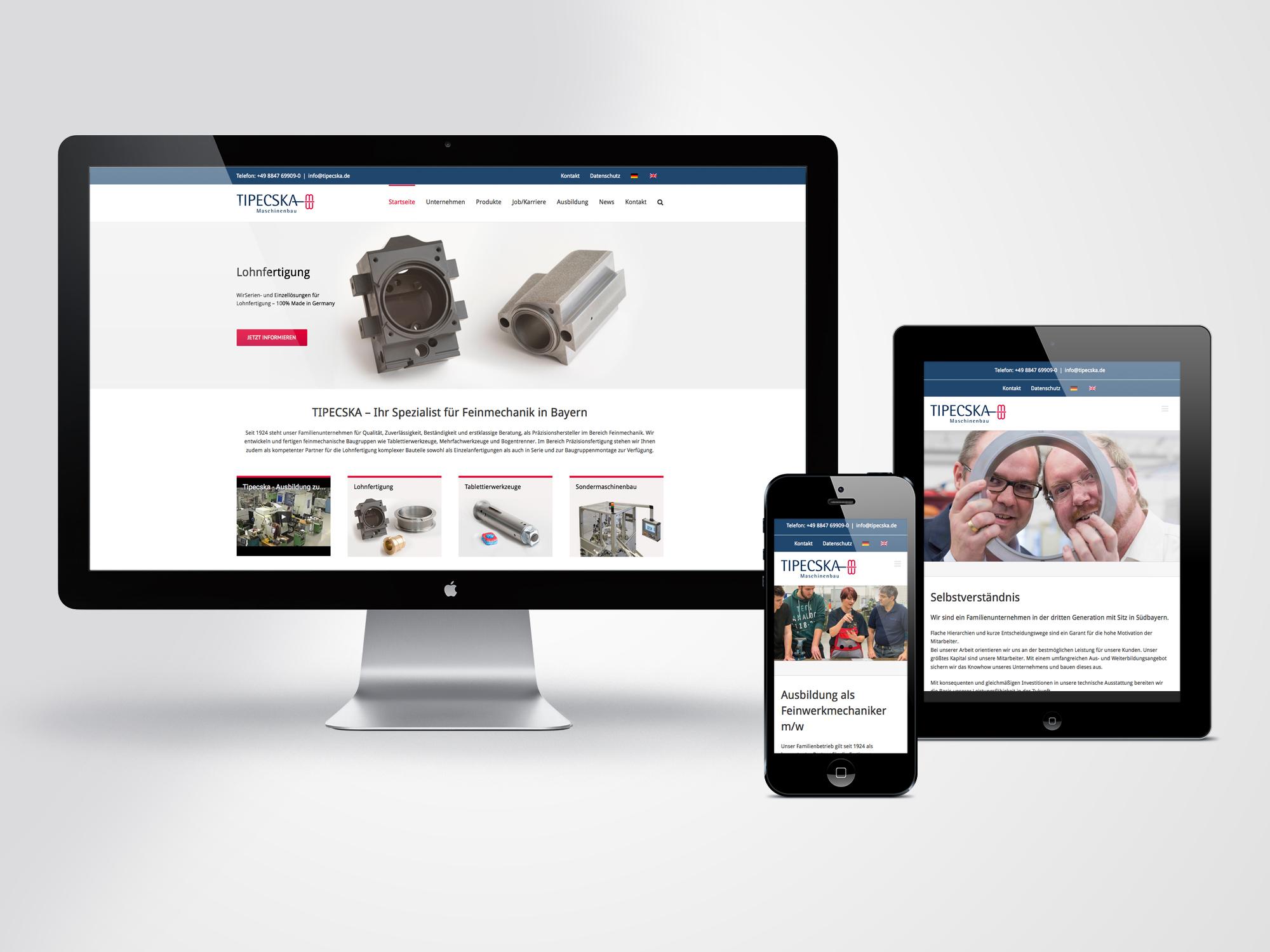 Webdesign-Tipecska