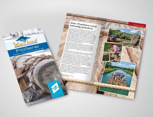 Broschüre Tölzerland Floesserei
