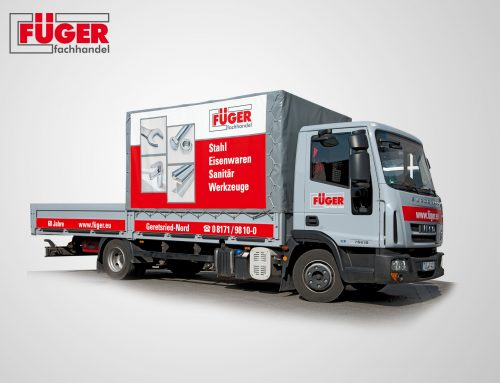 Corporate Design Füger LKW