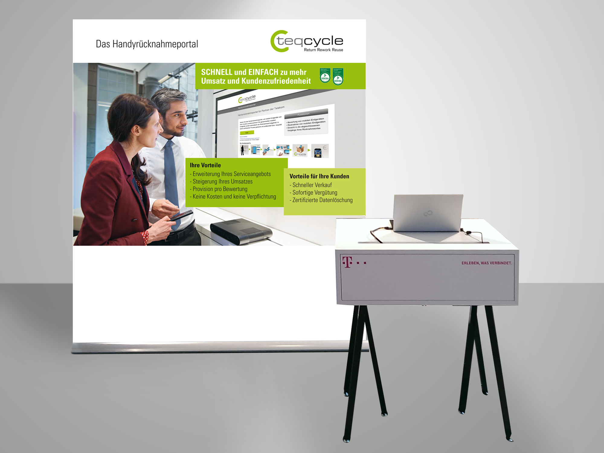 Corporate-Design-teqcycle-Messebanner