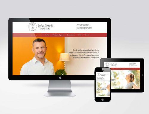 Responsive Website Chiropraktik